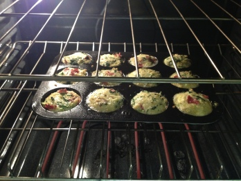 quinoa cups baking