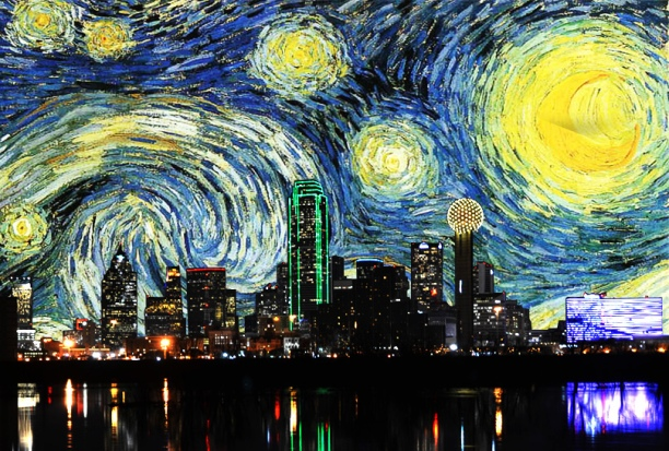 dallas-starry-night